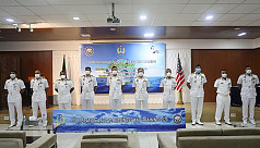 Naval exercise Carat Bangladesh 2020 concludes