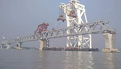 37th span of Padma Bridge installed, four more to go