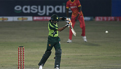 Pakistan rout Zimbabwe in 1st T20I