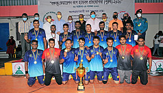 Police clinch Bangabandhu Fed Cup Handball