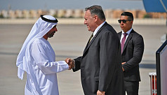 Pompeo heads to see allies who are turning page on Trump