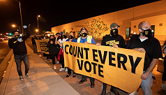 Count every vote: Protesters take to...