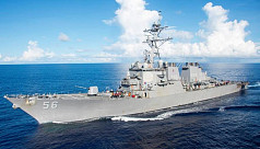 Russia caught US warship in its waters, chased it off