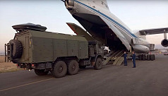 Russia says first peacekeepers deployed...