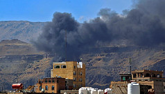 Saudi-led coalition bombs Yemen rebel sites after Aramco attack