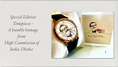 Indian High Commission releases wristwatches...
