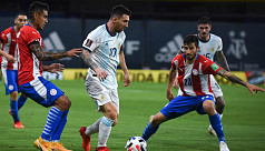Messi denied as Argentina held by Paraguay...