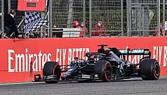 Hamilton wins at Imola as Mercedes clinch...