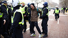 155 arrested at London anti-lockdown protest