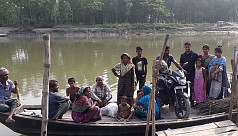Villagers suffer for want of permanent bridge in Tangail