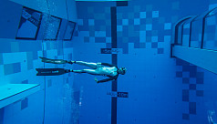World's deepest diving pool opens in Poland
