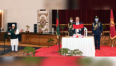 Faridul Haque sworn in as State Minister...