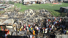 Over 50 shanties gutted in Kalshi as...