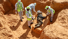 Authorities unearth 17 more bodies in Libyan mass graves