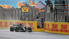 Hamilton wins record-equalling seventh...