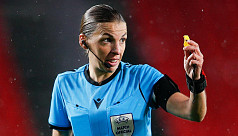 Frappart to become first female referee...