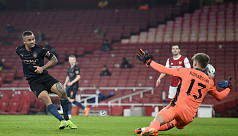 Arsenal lose 4-1 to City to exit League Cup
