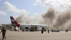 Yemen airport blasts kill 10 as new government arrives