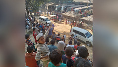Rohingyas leave camps in groups for Bhashan Char