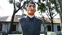 Now Bagha Jatin's statue vandalized...