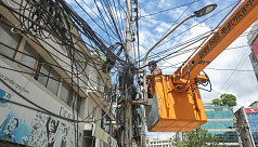 Overhead cable removal saga continues