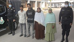 4 held for severing NGO worker's wrist...