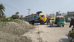 Road expansion project resumes, to alleviate...