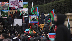 Azerbaijani forces raise flag in last...