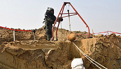 Fifth 250kg war-time bomb found at Dhaka...