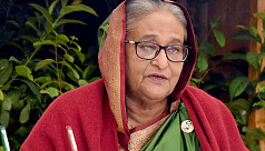 PM Hasina inducts Dash 8-400 aircraft...
