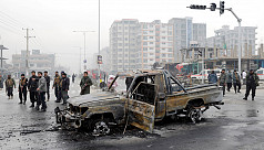 9 dead as Kabul car bombing targets Afghan lawmaker
