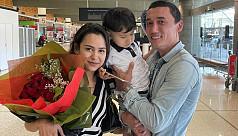 Australian Uighur family reunited after...