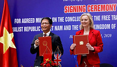 Britain finalizes free trade pact with Vietnam