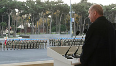 Erdogan in Azerbaijan to hail glorious...