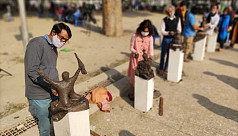 In pictures: Protest with Art