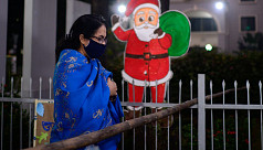 In Pictures: A subdued Christmas...