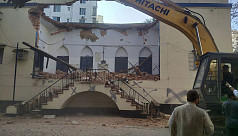 Jatindra Mohan's house: Demolisher claims to be the rightful owner