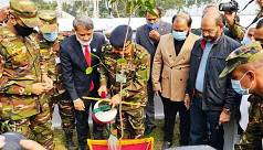Army chief Gen Aziz Ahmed inaugurates hospital in Chandpur