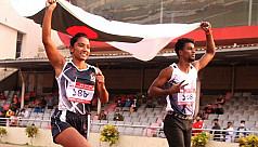 Ismail, Shirin continue 100m dominance