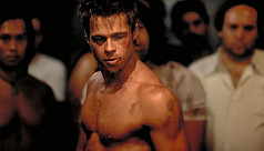 Brad Pitt getting ripped for new role...