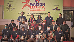 Rakibul rewarded as best player in Walton-BSJA Sports Festival