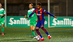 Barca edge past minnows Cornella despite missing two penalties