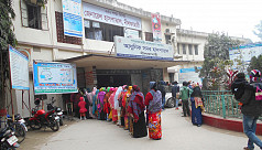 Nilphamari General Hospital struggling with space, staffing
