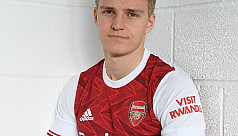 Arsenal sign Real Madrid's Odegaard on loan