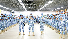 BAF peacekeepers leave for Mali