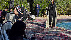 Chic abayas on the catwalk in rare Saudi fashion show