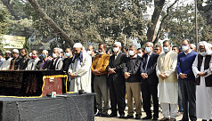 Journalist Mizanur Rahman Khan laid to rest