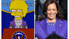Did The Simpsons predict Kamala Harris's vice presidency?