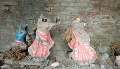 Hindu temple vandalized in