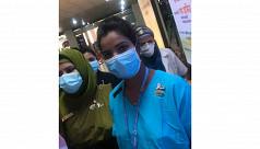 Nurse Runu becomes Bangladesh's first Covid-19 vaccine recipient